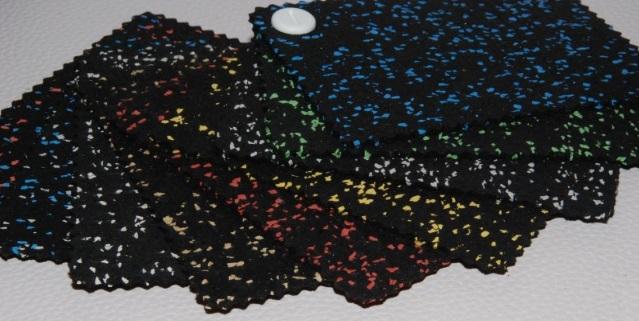 Dostepne kolory gumowych mat na siłownie WS FIT